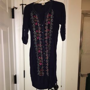 Anthropologie Dresses - Anthropologie Tiny Button Up Dress